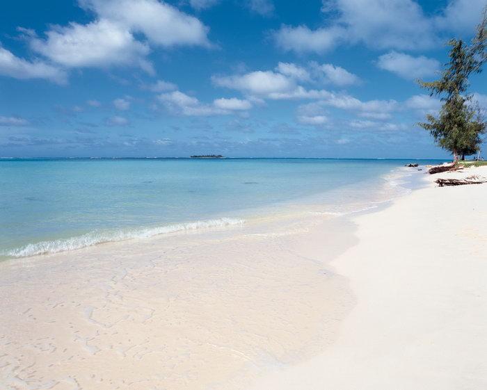 夏威夷白色海滩大海风景风光图片-素彩图片大全