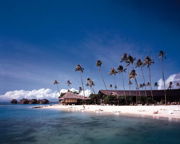 夏威夷海滩风景大海风景风光图片-素彩图片大全