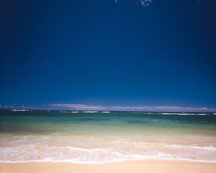 蓝天大海风景大海风景风光图片-素彩图片大全