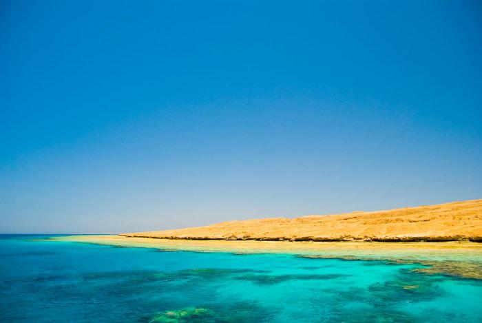 蓝色海水大海风景风光图片-素彩图片大全