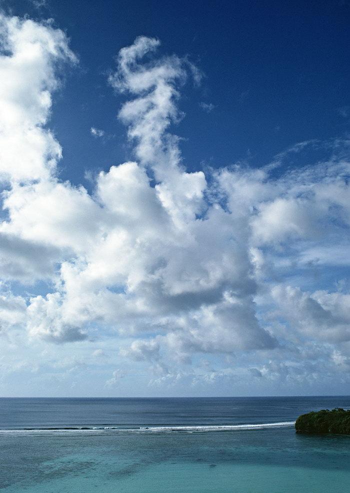海天一线大海风景风光图片