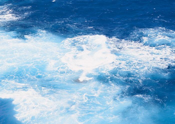 深蓝大海大海风景风光图片
