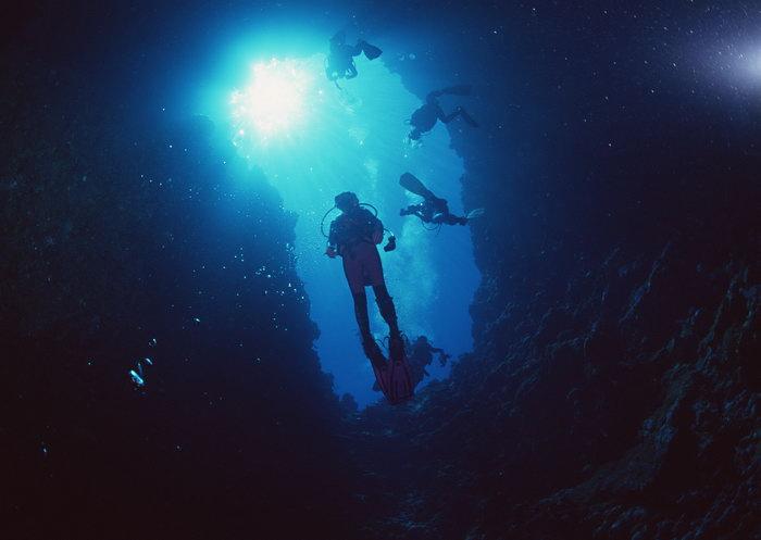 深海景观大海风景风光图片