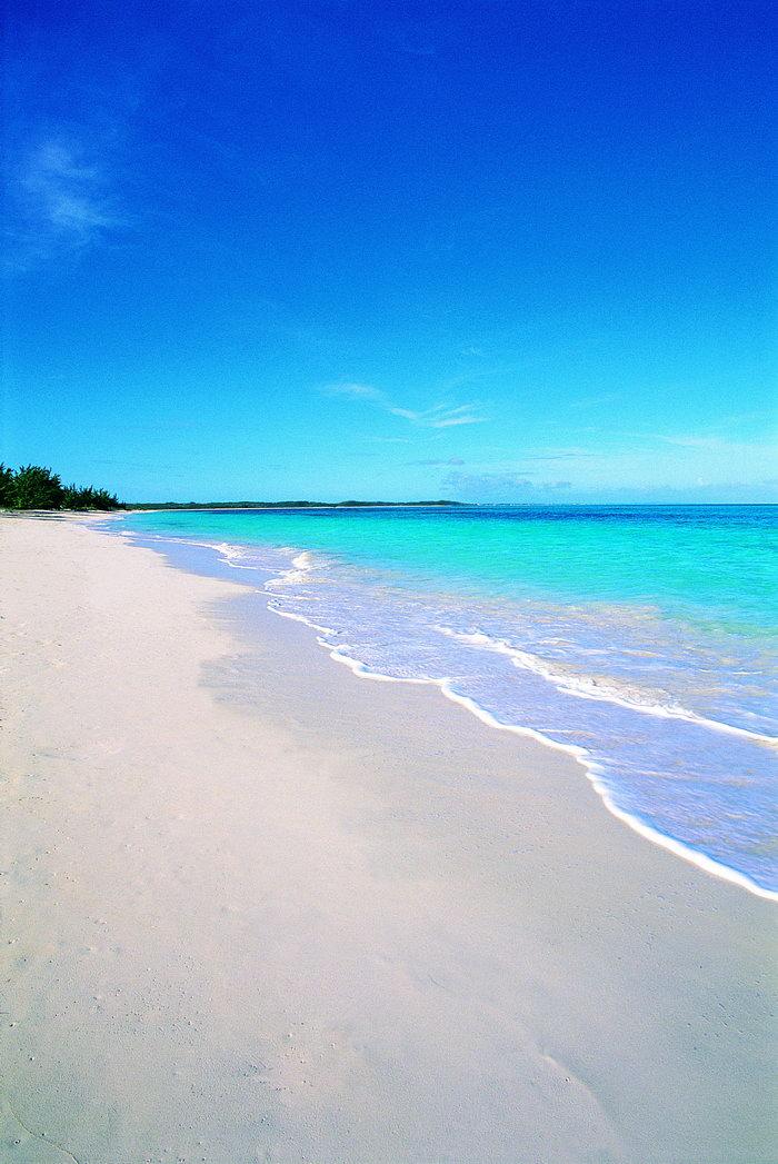 海滩大海风景风光图片-素彩图片大全