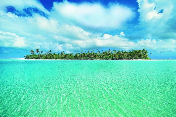 大海蓝天大海风景风光图片-素彩图片大全
