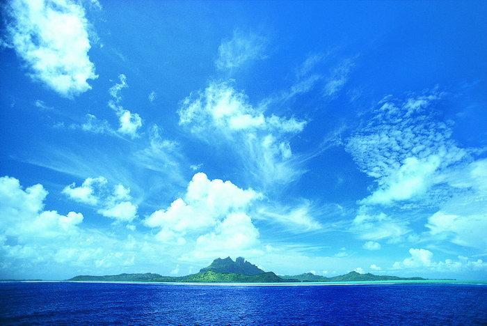 大海蓝天大海风景风光图片