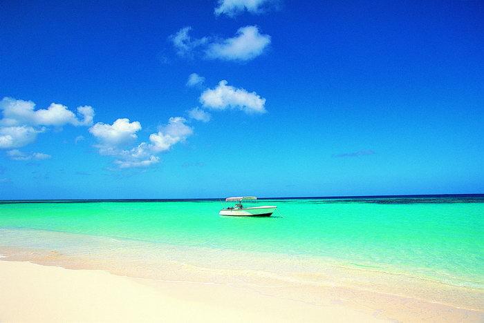 大海沙滩大海风景风光图片