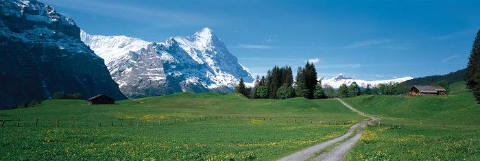 德国山野风景图片