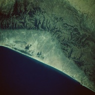 卫星航拍星球图片