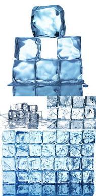 多款晶莹冰块图片
