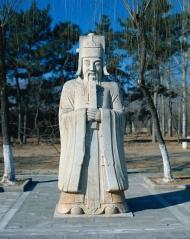 清东陵石雕古建筑