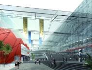 办公楼建筑效果图建筑设计图片
