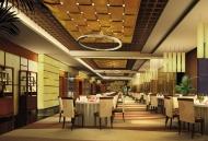 酒店餐厅餐桌建筑设计图片