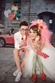 情侣婚纱照图片