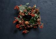 圣诞节装饰花圈图片