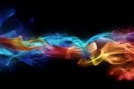 彩色烟雾背景图片
