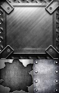 实用金属钢板材质背景图片系列(三)